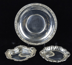 Three Pieces of Sterling Hollowware