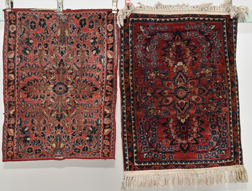 Two Persian Area Rugs