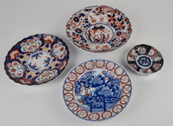 Four Early Imari Plates