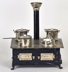 Victorian Tin Doll Cook Stove