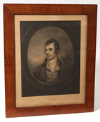 H.S. Sadd Engraving of Robert Burns