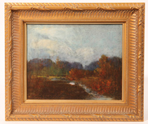 Thomas Jefferson Willison (Ohio) Oil Painting