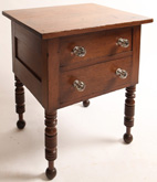 Kentucky Cherry Sheraton 2 Drawer Work Stand
