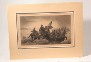 Washington Crossing The Delaware Lithograph