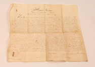 Andrew Jackson Autographed Rev. War Land Grant