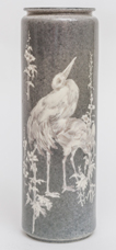 Willest Belleek Stork Vase