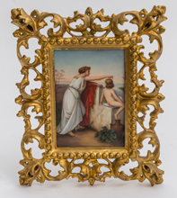 Porcelain Plaque Classical Scene