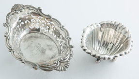 Two Sterling Dishes