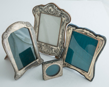 Four Sterling Picture Frames