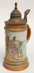 German Etched Stein