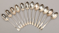 Steiff Colonial Williamsburg Sterling Spoons