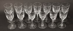 Royal Leerdam Air Twist Goblets