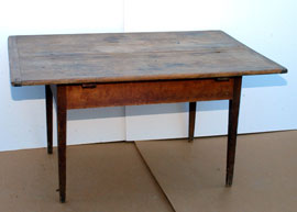EARLY CHERRY WORK TABLE