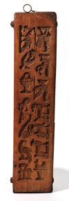 Great 19th Century Carved Wooden Candy Mold