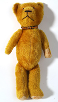 Early Gold Mohair Jointed Teddy Bear