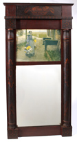 Great 19th Century Hitchcock Style Mirror