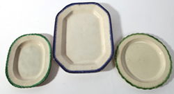 FEATHER EDGE PLATTER & PLATE