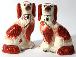 PR. OF 19TH CENTURY STAFFORDSHIRE DOGS