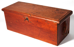 MINIATURE NEW ENGLAND SEA CHEST