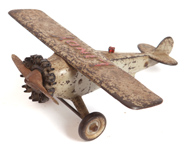 HUBLEY CAST IRON LINDY MONOPLANE