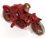 CAST IRON RACING MOTORCYCLE