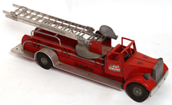 SMITH-MILLER TOY FIRE TRUCK