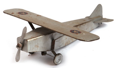 LINDBERGH STYLE TOY MONOPLANE
