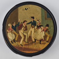 Decorated Snuff Box