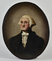 Washington Painting After Gilbert Stuart