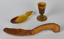 Early Horn & Treen Items