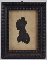 Early Silhouette of Young Lady