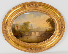Early Oil Landscape Painting