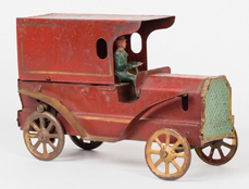 Rare Dayton Friction Toy Delivery Truck
