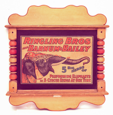 Ringling Brothers & Barnum & Bailey Circus Store Sign