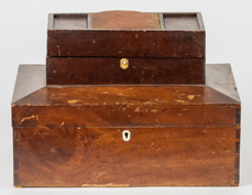 Early Shaker Tiered Sewing Box