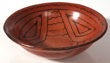 NATIVE AMERICAN MARICOPA DECORATED BOWL