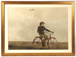 "ANDREW WYETH ""YOUNG AMERICA"" COLLOTYPE"