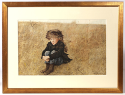 "ANDREW WYETH ""FARAWAY"" COLLOTYPE"