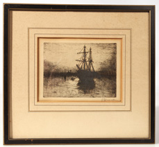 LEWIS HENRY MEAKIN (OHIO) ETCHING
