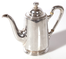 AUSTRIAN SILVER TEA POT