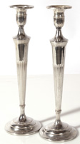 PR. STERLING CANDLESTICKS BY WEBSTER CO.