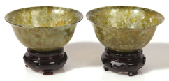 PR. CHINESE JADE LIBATION CUPS