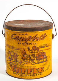 Campbell Coffe Tin