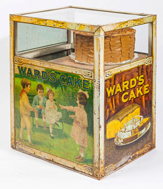 Great Ward's Cake Tin Display Case