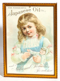 Japanese Oil Window Sign