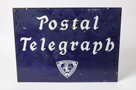 DeLaval Porcelain Sign
