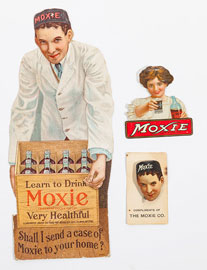 Three Scarce Moxie Items