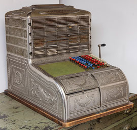 Automatic Bookeeper Cash Register