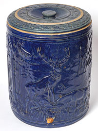 Embossed Stoneware Cooler