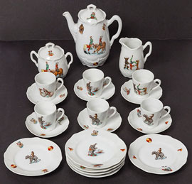 Childs Porcelain Teaset